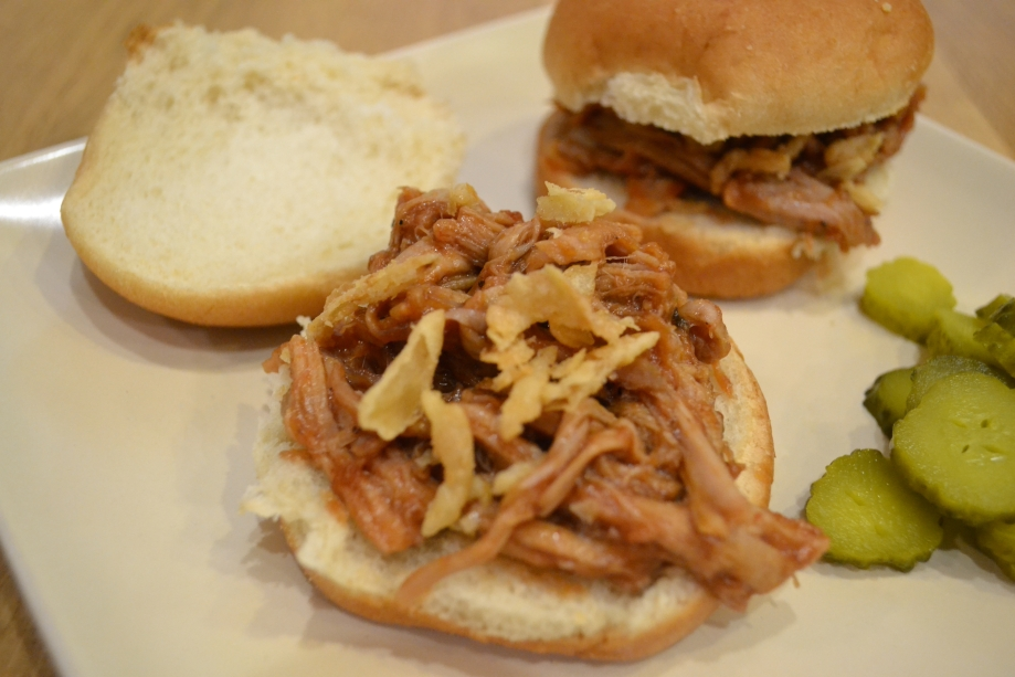 March Madness and Pulled Pork Sliders