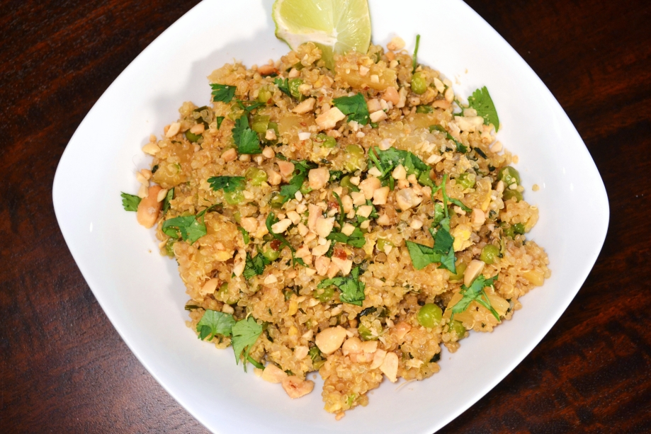 Meatless Monday: Thai Fried Quinoa
