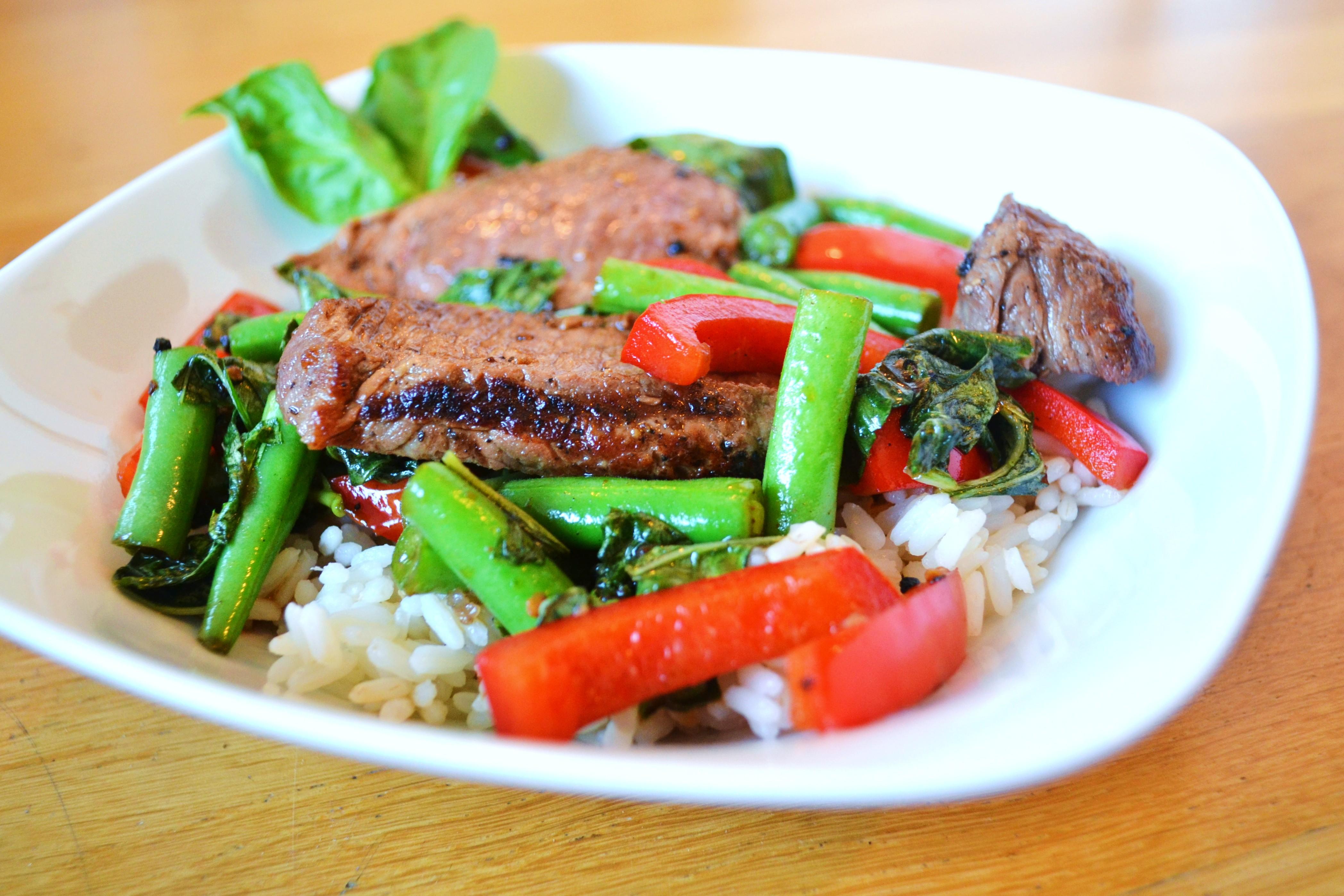 Spicy Thai Basil Beef | windykitchen