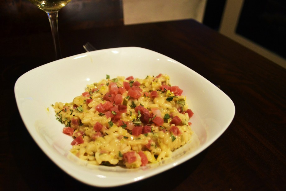 Ghost Removal 101: Sage and Prosciutto Risotto
