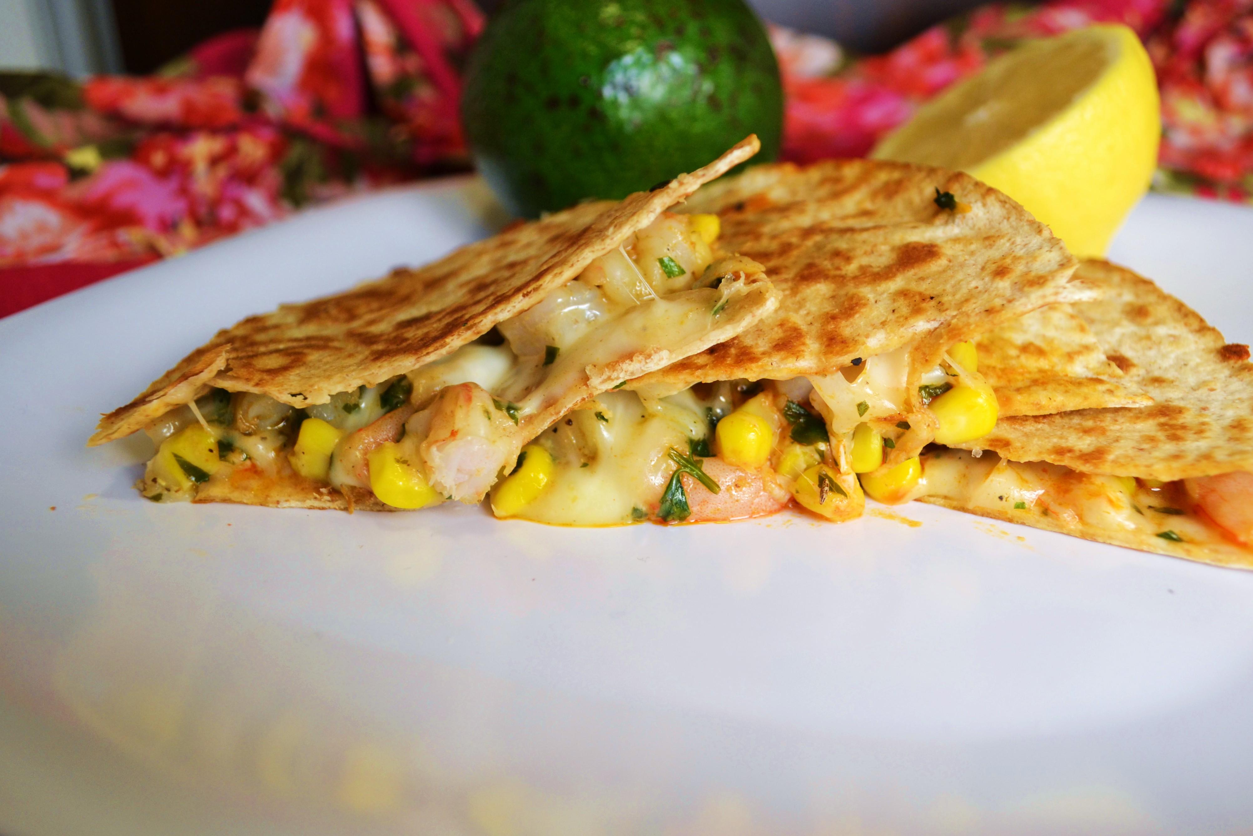 Shrimp Quesadilla Images & Pictures - Becuo