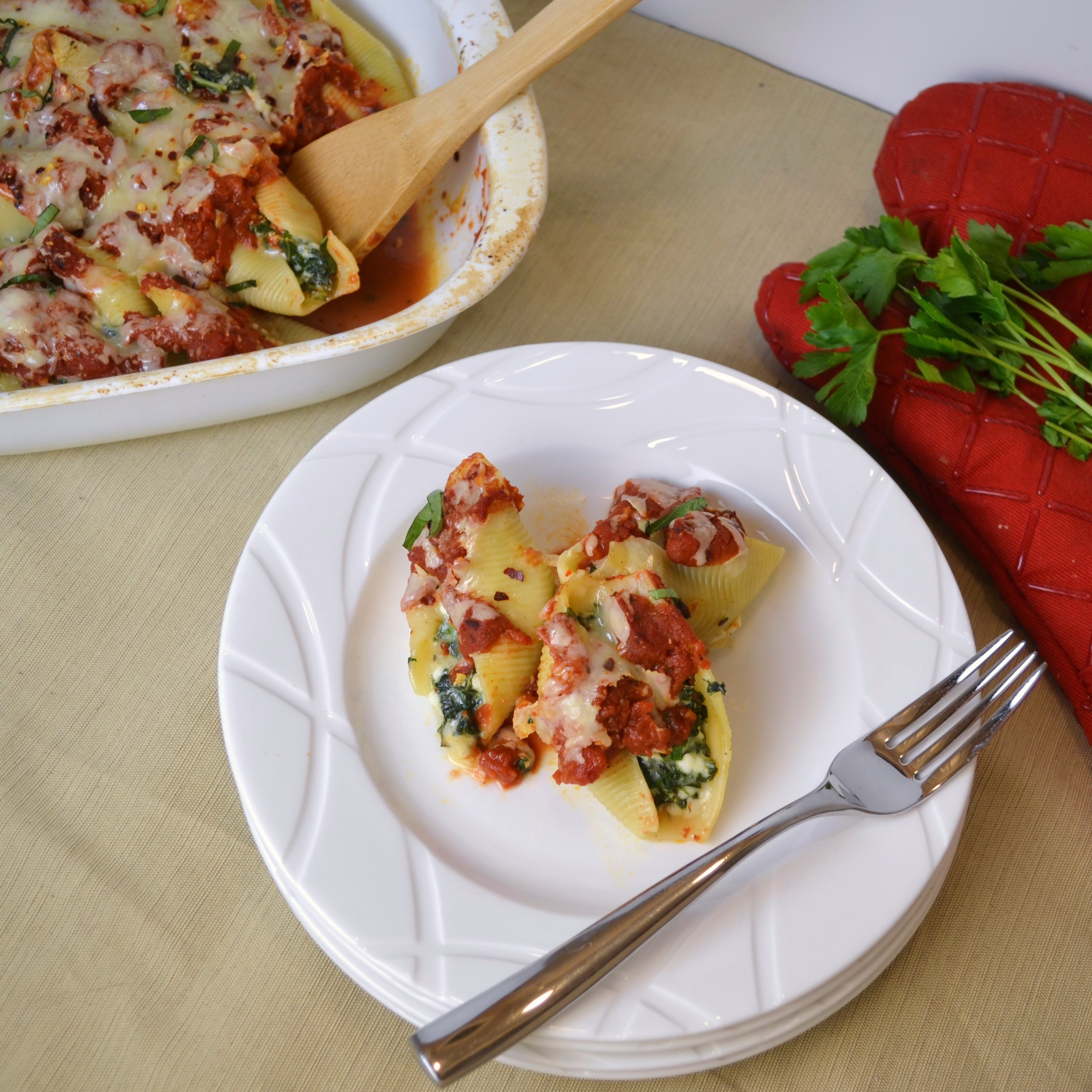 Stuffed Shells With Kale Recipes — Dishmaps