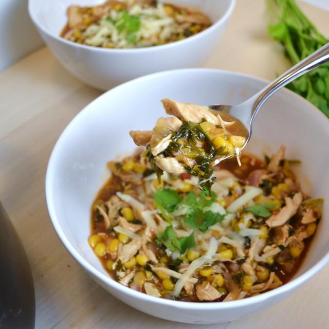 277c bbq chicken soup
