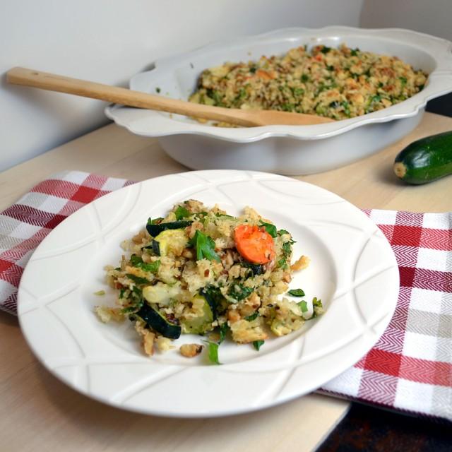 Parmesan Veggie Brown Rice Gratin 3 | windykitchen