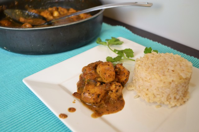 Basil Coconut Curry Chicken | windykitchen