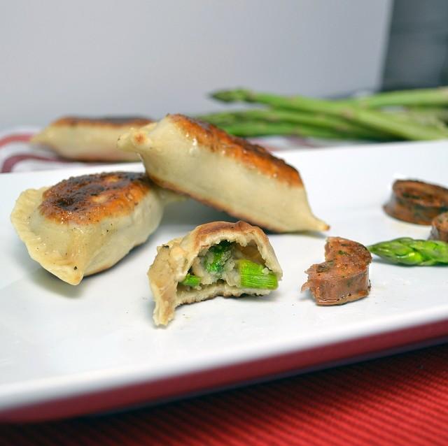 Asparagus Brie Pierogies 3 | windykitchen