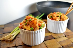 Indonesian Shrimp Fried Rice 1 | windykitchen