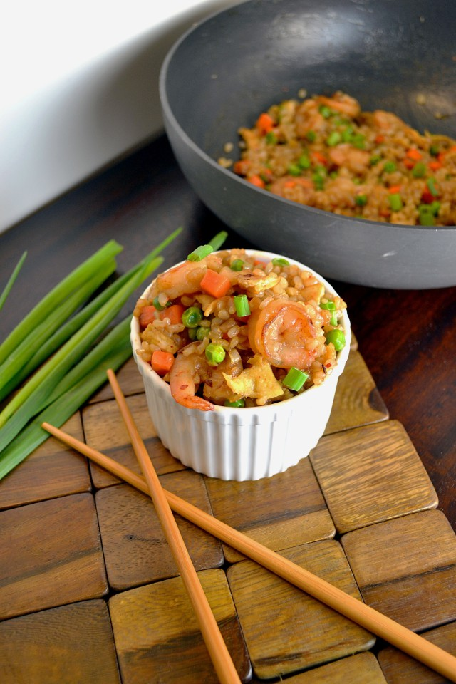 Indonesian Shrimp Fried Rice 2 | windykitchen