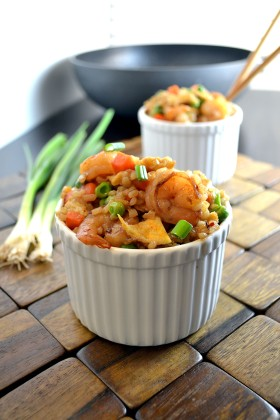 Indonesian Shrimp Fried Rice 3 | windykitchen