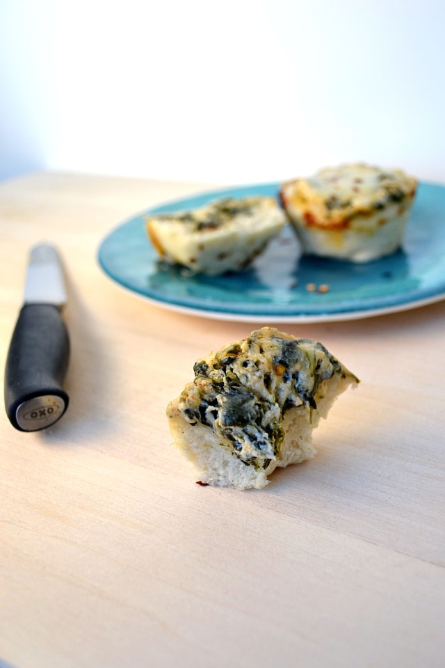 Spinach Dip Mini Breadbowls | windykitchen