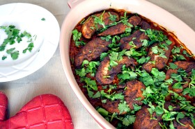 Tandoori Chicken and Rice Bake | windykitchen