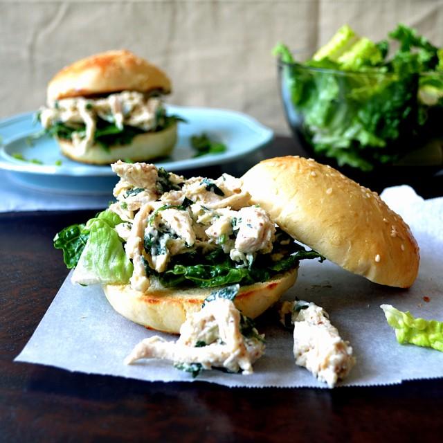 Chicken Caesar Sandwiches | windykitchen