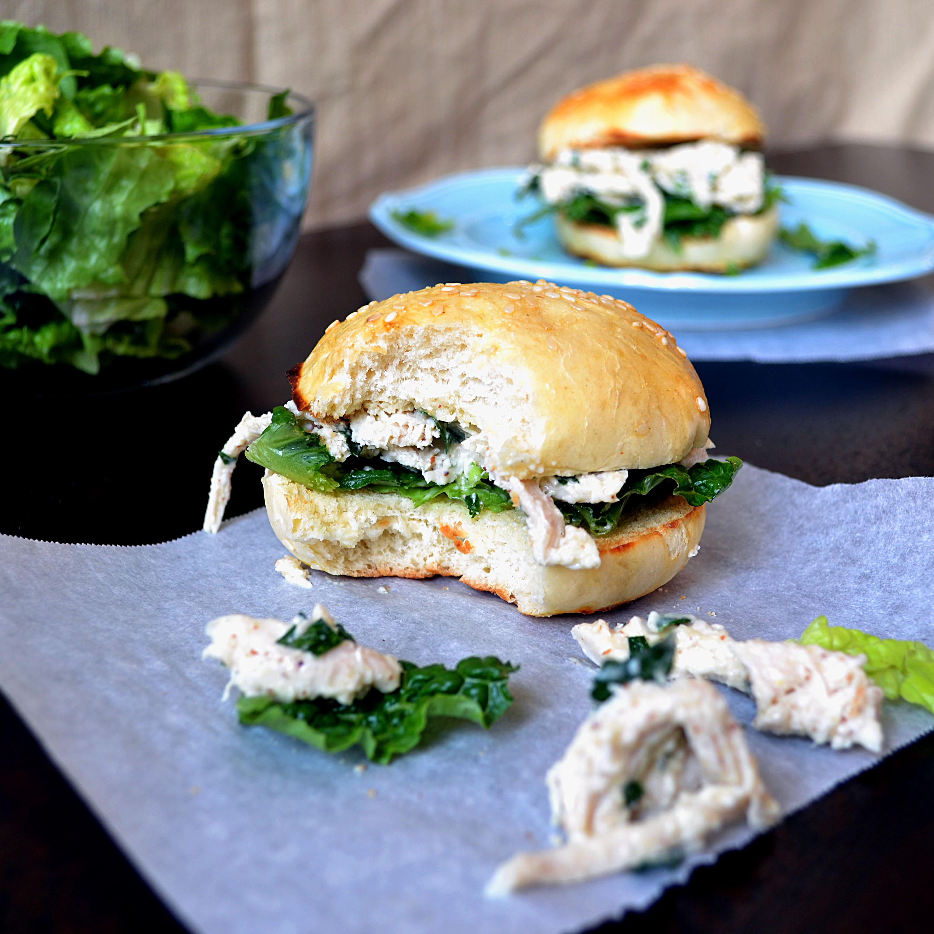 Chicken Caesar Sandwich Panera
