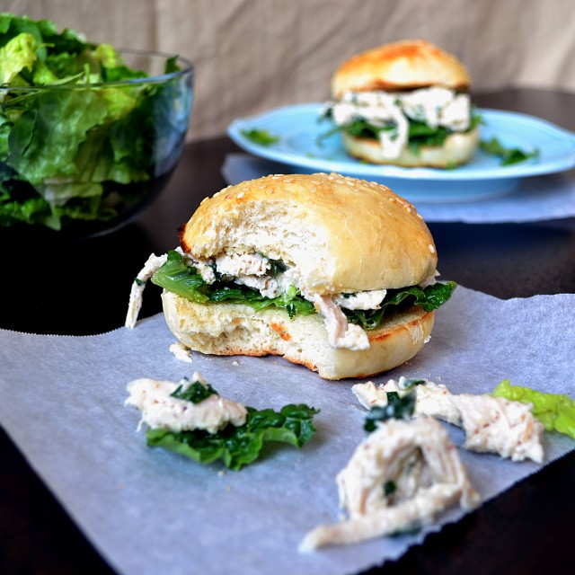 Chicken Caesar Sandwiches | windykitchen