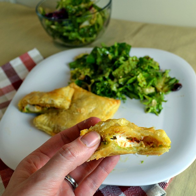 Avocado Cream Cheese Salsa Pockets | windykitchen