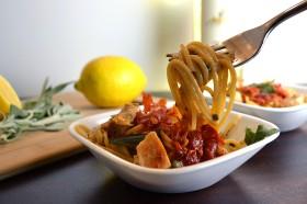 Chicken Saltimboca Pasta | windykitchen