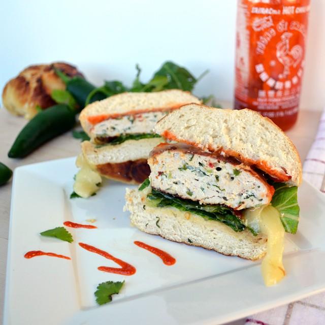 Jalapeno Popper Turkey Burgers | windykitchen