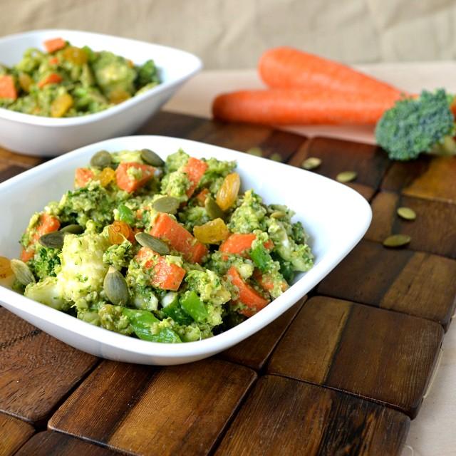 Veggie Avocado Toss | windykitchen