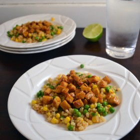 Spicy Sweet and Sour Tofu | windykitchen