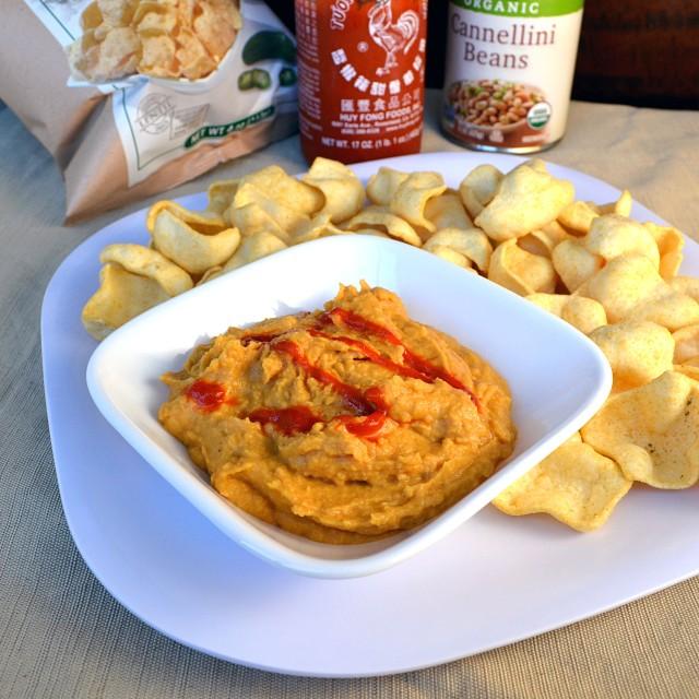 Spicy Sriracha White Bean Dip | windykitchen