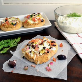 Greek Pita Pizzas | windykitchen