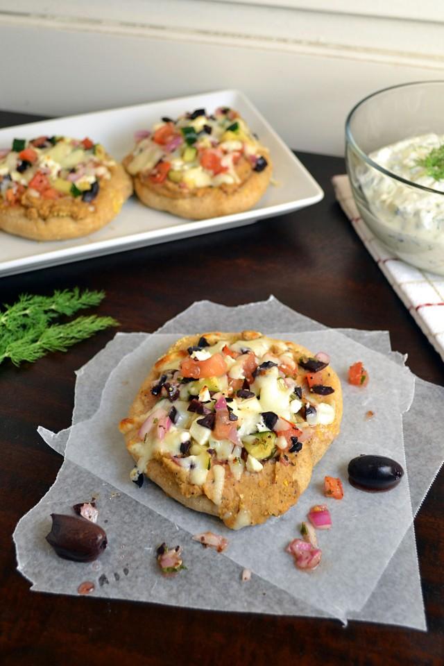 Greek Pita Pizzas | windykitchen