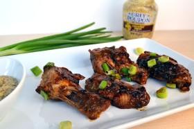 Mustard Glazed Chicken Drumsticks | windykitchen