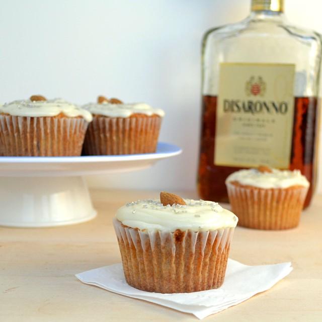 Amaretto Cupcakes   windykitchen