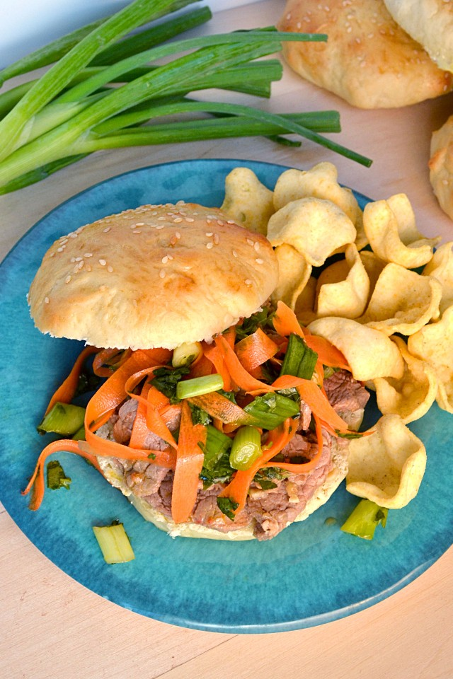 Soy Marinated Pork Sandwiches | windykitchen