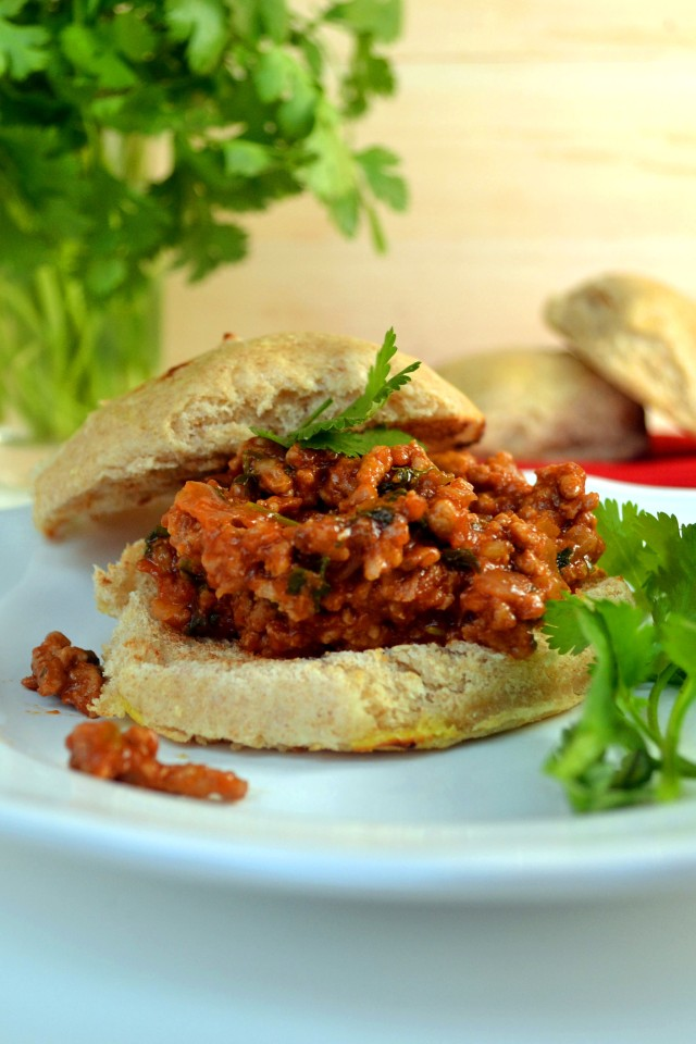 Hoisin Cilantro Sloppy Joes | windykitchen