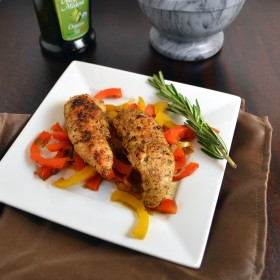 Chicken with Balsamic Peppers | windykitchen