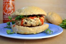 Feta Cilantro Turkey Burgers | windykitchen