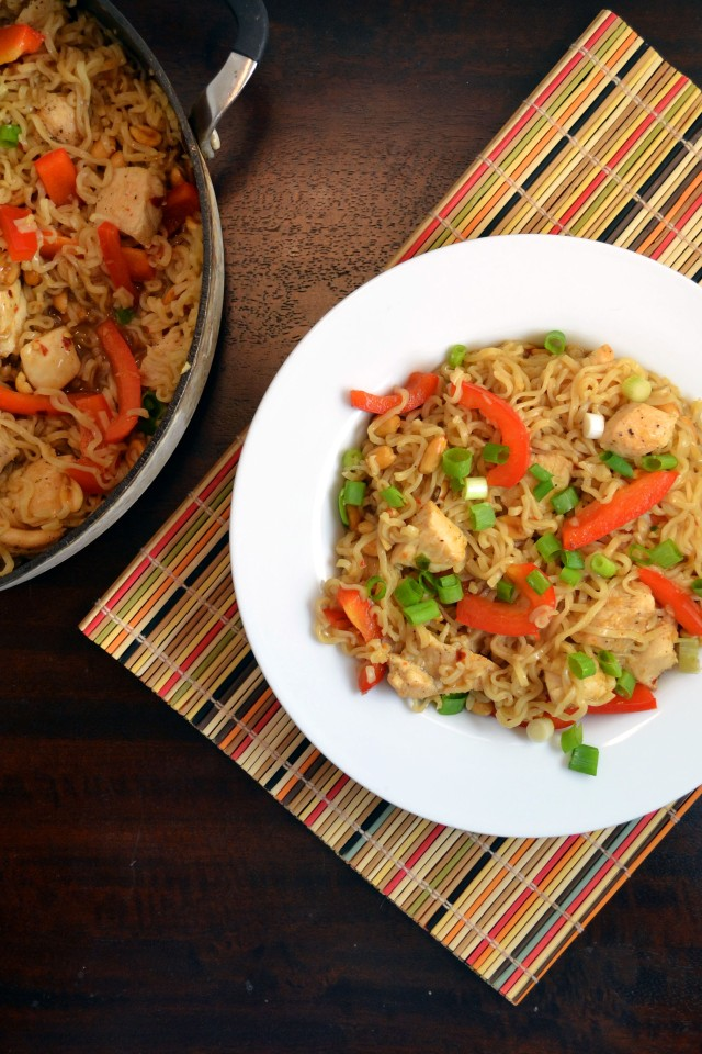Kung Pao Chicken Ramen Bowls | windykitchen