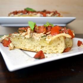 Chicken Gorgonzola Bruschetta | windykitchen
