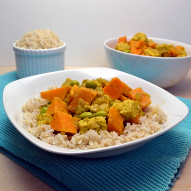 Tempeh and Sweet Potato Curry