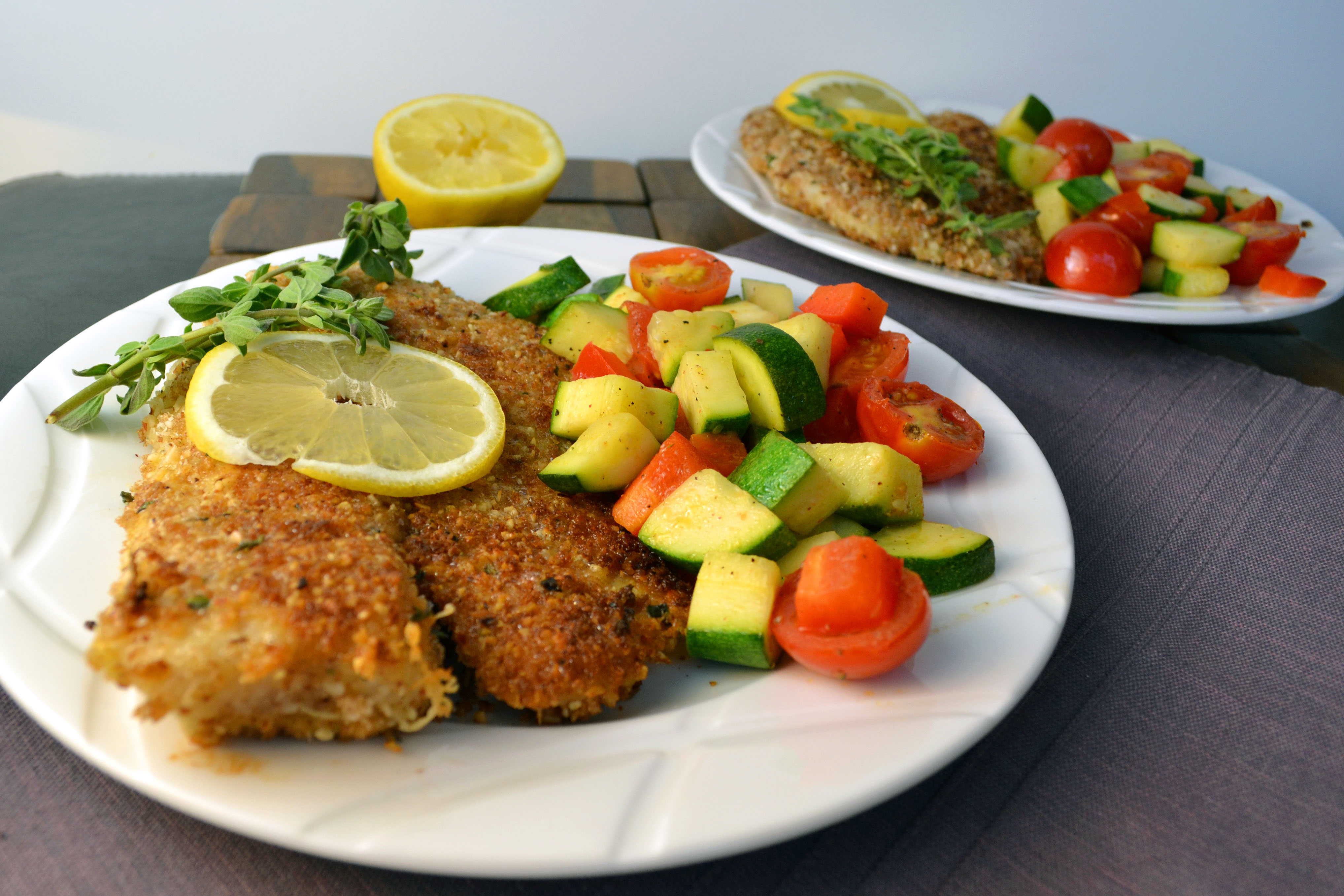 giroux baked almond crusted tilapia almond and parmesan baked almond ...