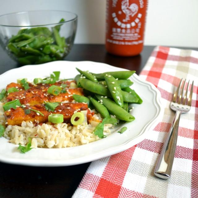 Spicy Peanut Butter Tofu w Sriracha | windykitchen