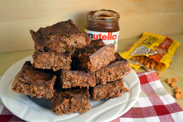 Nutella Scotcheroos | windykitchen