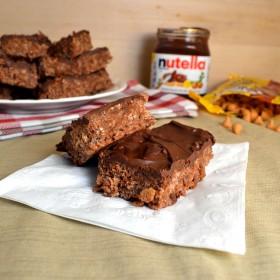 Nutella Scotcheroos | windykitchen