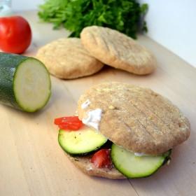 Homemade Whole Wheat Pita Bread | windykitchen