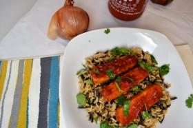 BBQ Sriracha Tempeh | windykitchen
