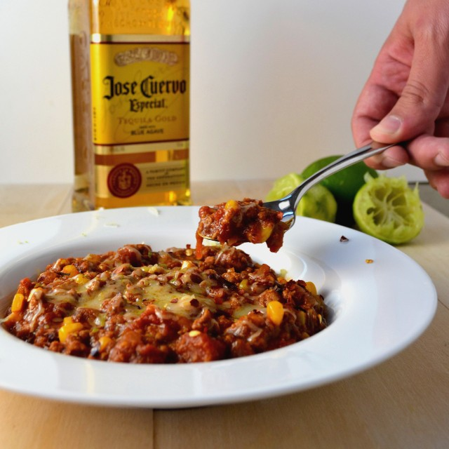 Slow Cooker Tequila Lime Chili | windykitchen