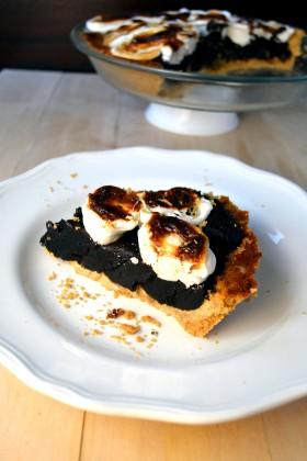 S'mores Brownie Pie | windykitchen