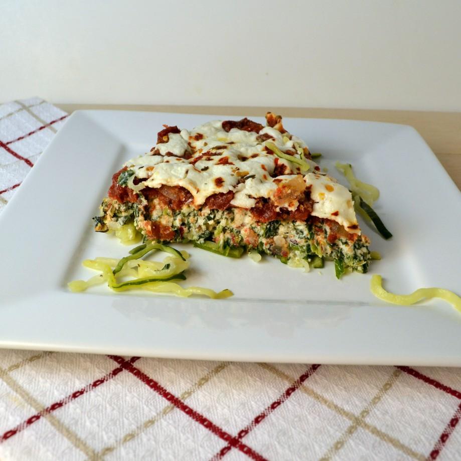 Meatless Monday: Zucchini-Ricotta Pie