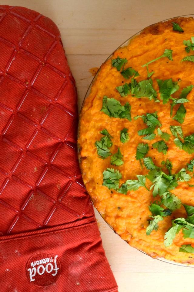 Southwestern Sweet Potato Shepherd's Pie | windykitchen