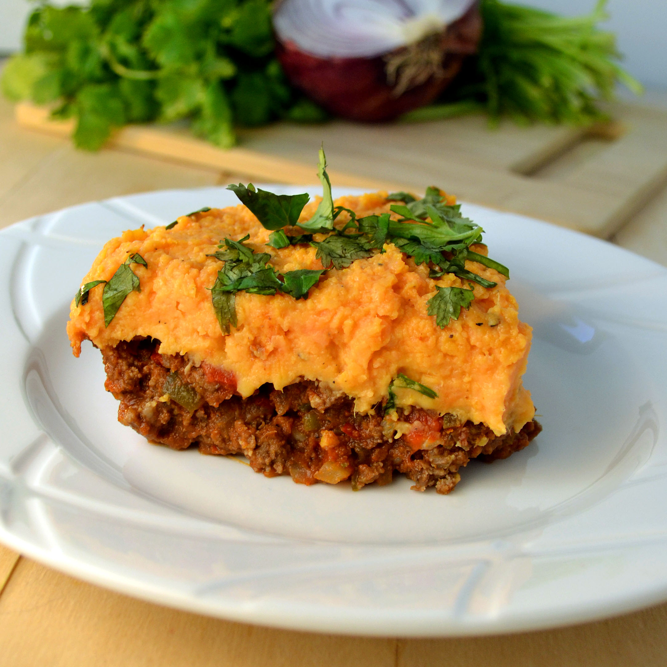 Southwestern Sweet Potato Shepherd's Pie | windykitchen