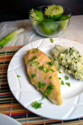 Cilantro Lime Cauliflower Rice | windykitchen