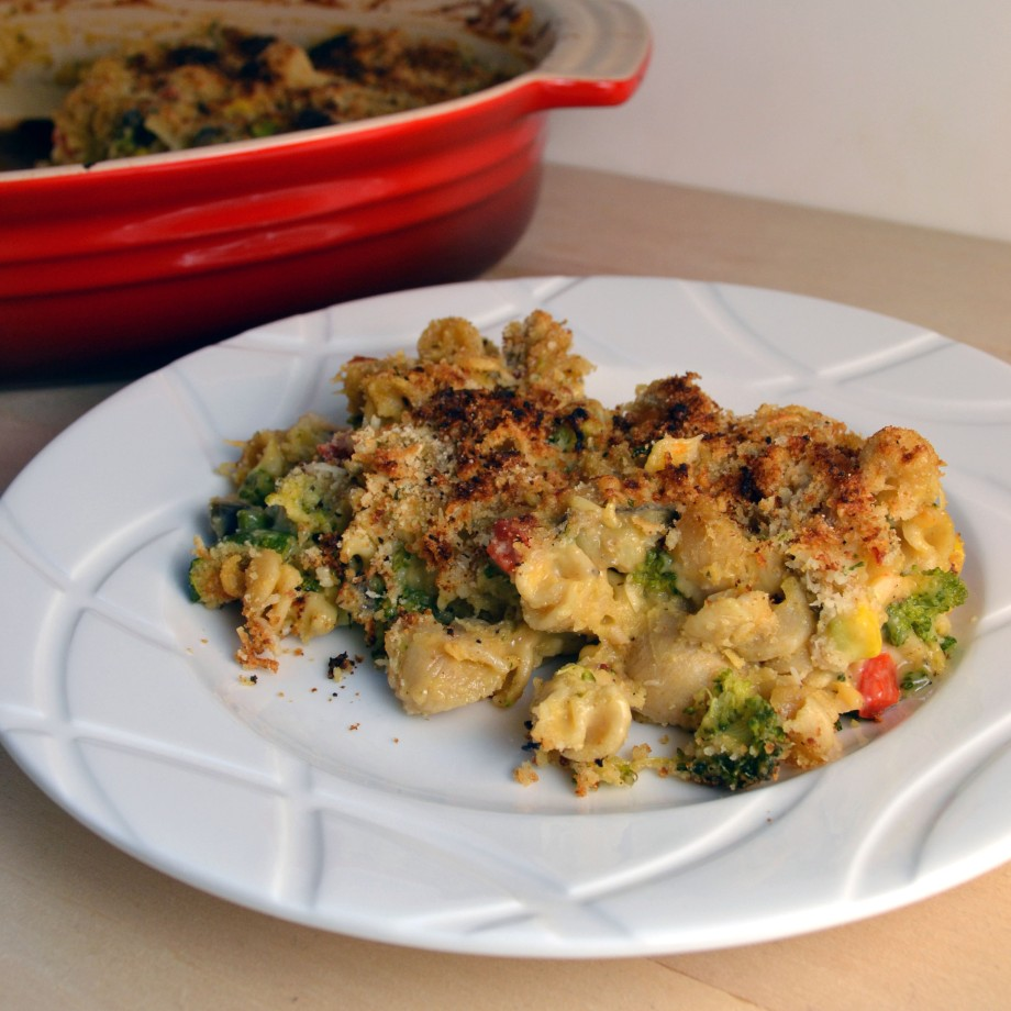 Meatless Monday: Roasted Veggie Mac and Cheese