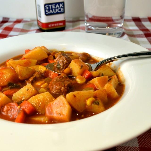 Lighter Steak Soup | windykitchen