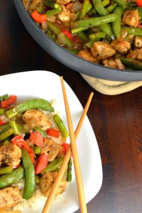 Black Pepper Chicken Stir Fry   windykitchen